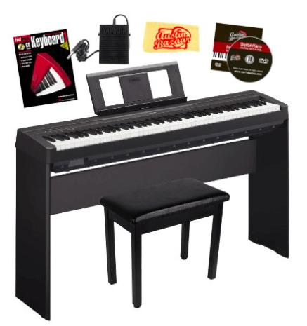 yamaha p series p105b digital piano digital piano reviews 2019. Black Bedroom Furniture Sets. Home Design Ideas